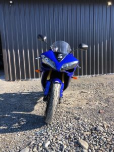 YAMAHA YZ-FR1, Front view