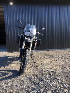BMW F800GS, Front view