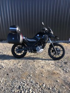 BMW G650GS, Side view