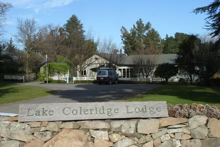 Lake Coleridge Lodge - Lake Coleridge